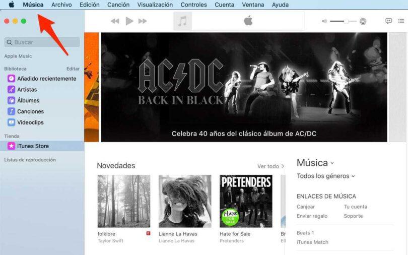 App musica
